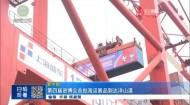 第四届进博会首批海运展品到达洋山港