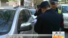 交警城管联动执法 打造畅通交通环境