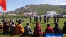 省军区汉藏双语宣传小分队深入天峻县开展宣讲活动