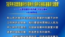 习近平外交思想是新时代中国特色大国外交的根本遵循和行动指南