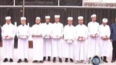 隆务清真大寺举行升国旗仪式谱写爱国爱教新篇章