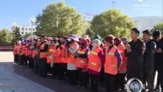 州住建局开展《黄南藏族自治州城镇市容和环境卫生管理条例》宣传活动