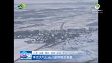 降雪天气让山川田野银装素裹