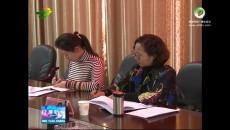 省妇儿工委督导组在门源县督导调研工作