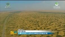 内蒙古完成三北防护林建设任务逾1亿亩