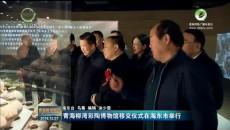 青海柳湾彩陶博物馆移交仪式在海东市举行