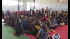 泽库县省级精准扶贫产业园区2018年度贫困户集体分红仪式