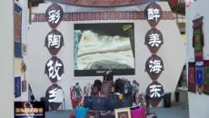 刘宁到青海文化旅游节海东展厅巡馆