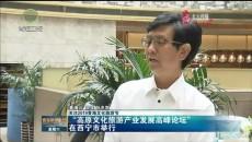 """""""高原文化旅游产业发展高峰论坛""""在西宁举行"""