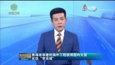 """青海省承建的海外工程获得国内大奖实现""""零突破"""""""