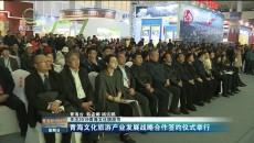 青海文化旅游产业发展战略合作签约仪式举行