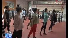 玉树州歌舞团排练歌伴舞《大山一样的守候》