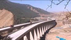 国道569曼德拉至大通公路 克图至大通段公路施工?#34892;?#25512;进