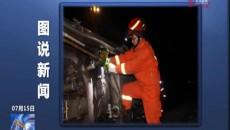 图说新?#29275;?2吨油罐车发生侧翻泄漏 曲麻莱县应急局紧急出动处置