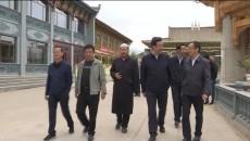 海东党政代表团在海北州门源县考察交流