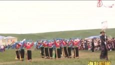 海北全州第二屆那達慕大會在門源縣皇城鄉夏日浩特草原舉行