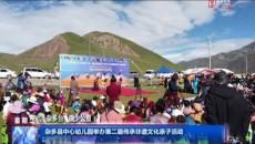 杂多县中心幼儿园举办第二届传承非遗文化亲子活动