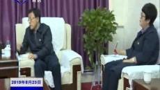 武玉嶂与上海市奉贤区党政代表团座谈