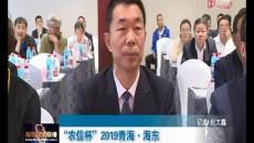 """""""农信杯""""2019青海·海东沿黄河马拉松赛举行新闻发布会"""