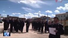 曲麻莱县举行公开示警演练