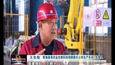 海东市首条年产10万吨有机肥生产线建成投产