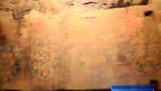 絲綢之路考古重大成果——烏蘭泉溝一號墓發現繪制精美的壁畫