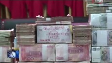 多彩鄉舉行精準扶貧勞務輸出收益分紅儀式