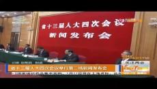 省十三屆人大四次會議舉行第二場新聞發布會
