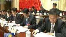 省十三屆人大四次會議舉行第二次全體會議