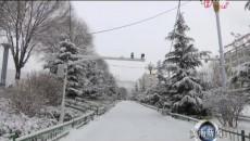 黃南州大范圍降雪 同仁縣迎來首場大雪天氣