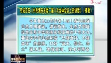 鳥成云在《中共海東市委二屆八次全體會議上的講話》(摘要)