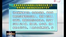 青海省新型冠狀病毒肺炎疫情防控處置工作指揮部第十場新聞發布會在西寧召開
