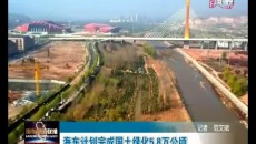 海東計劃完成國土綠化5.8萬公頃