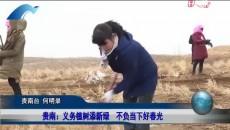 贵南:义务植树添新绿 不负当下好春光