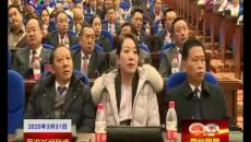 """武玉嶂在果洛州""""两会""""党员代表和委员会议上强调:提高政治站位 依法履职尽责"""