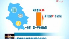 一季度海東市經濟增速居全省首位