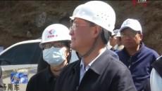 國家水利部副部長魏山忠一行到玉樹調研行業扶貧工作