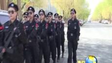 大柴旦行委首支女子巡邏隊亮相街頭