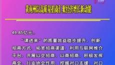黄南州以高质量招商汇聚经济增长新动能