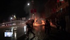 玉樹州消防救援支隊快速處置卡車起火事故