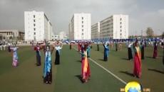 校園千人鍋莊舞 展示最炫民族風