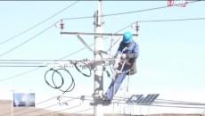 玉樹——雜多Ⅱ回110千伏線路跨越瀾滄江架線施工全部完成