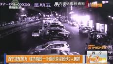 西宁城东警方 成功捣毁一个组织卖淫团伙9人被抓
