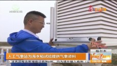 人工气象站为海水稻实验提供气象资料