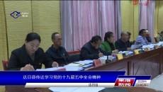 达日县传达学习党的十九届五中全会精神