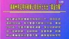 """黃南州用足用好政策讓良田沃土長出""""真金白銀"""""""