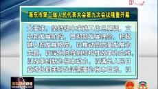 海东市第二届人民代表大会 第九次会议隆重开幕 鸟成云出席 王林虎作《政府工作报告》