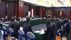 人大代表分团审议《政府工作报告》