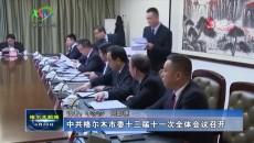 中共格尔木市委十三届十一次全体会议召开