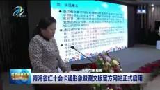 青海省红十会卡通形象暨藏文版官方网站正式启用